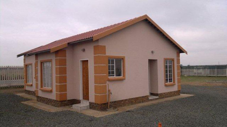 South african schools and rdp housing projects by trans Affordable house construction